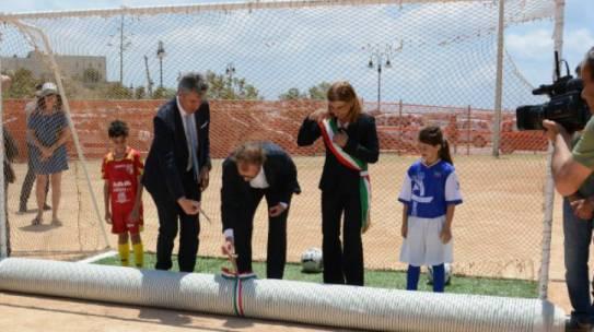"""Progetto Lampedusa """"Lo stadio del mondo"""""""