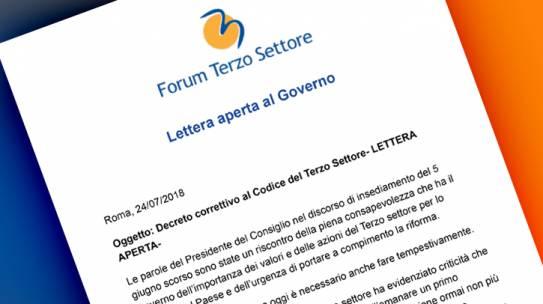 Lettera aperta al Governo
