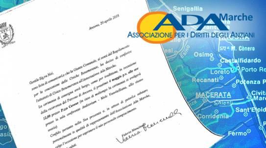 ADA Marche: attestato di Civica Benemerenza