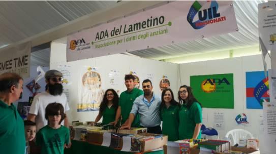 Lamezia: Volontari ADA in Fiera del Fumetto