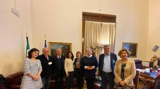 Per una legge nazionale sull'invecchiamento attivo: incontro tra  la Presidente della Commissione Affari Sociali della Camera dei Deputati, Sindacati e Associazioni