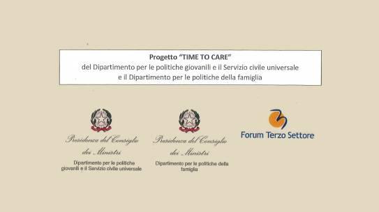Candidati al Progetto 'TIME TO CARE'